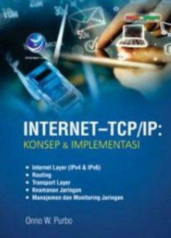 Cover Buku Internet-TCP/IP: Konsep Dan Implementasi