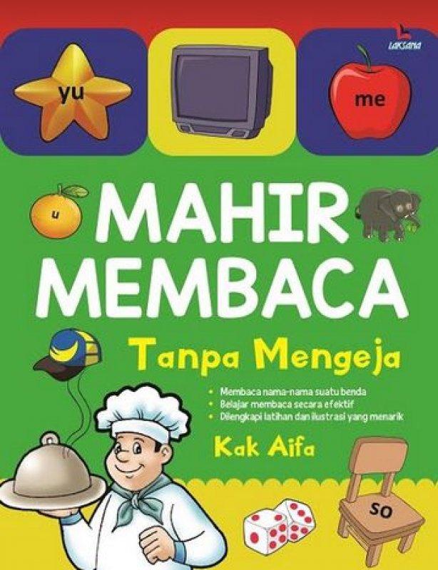 Cover Buku MAHIR MEMBACA TANPA MENGEJA