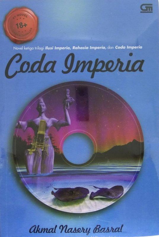Cover Buku Coda Imperia