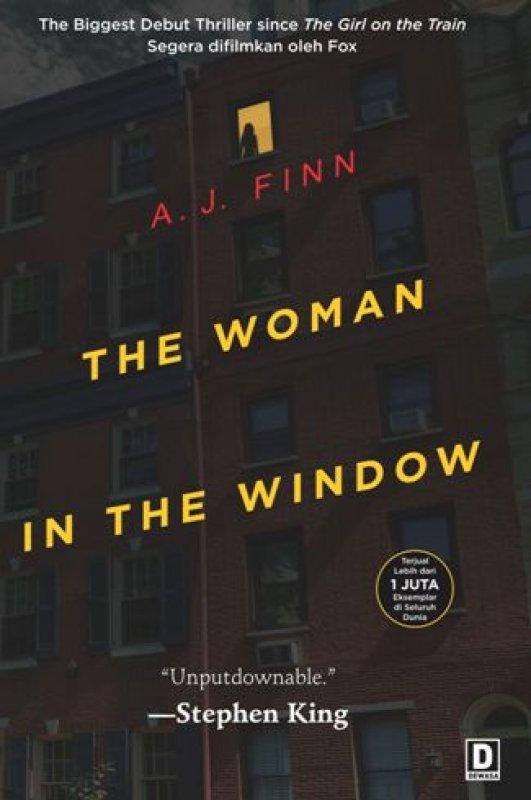 Cover Buku The Woman in the Window