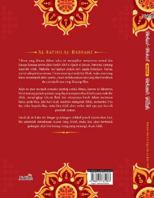Cover Belakang Buku Bekal-Bekal Menjadi Kekasih Allah (Hard Cover)