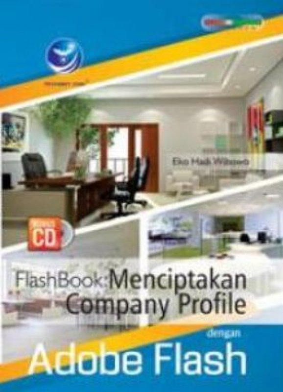 Cover Buku FlashBook: Menciptakan Company Profile Dengan Adobe Flash+CD