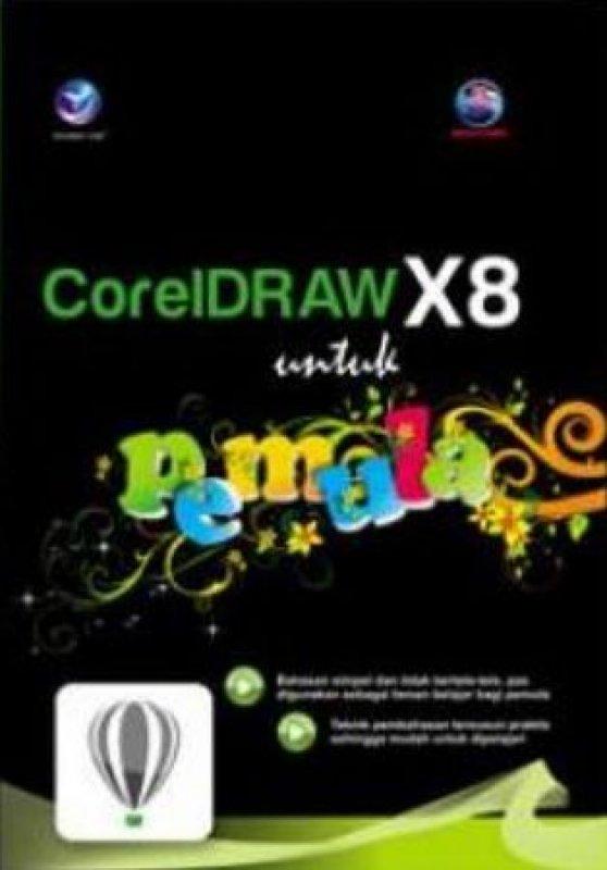 Cover Buku Coreldraw X8 Untuk Pemula