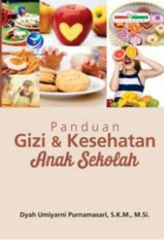 Cover Buku Panduan Gizi Dan Kesehatan Anak Sekolah