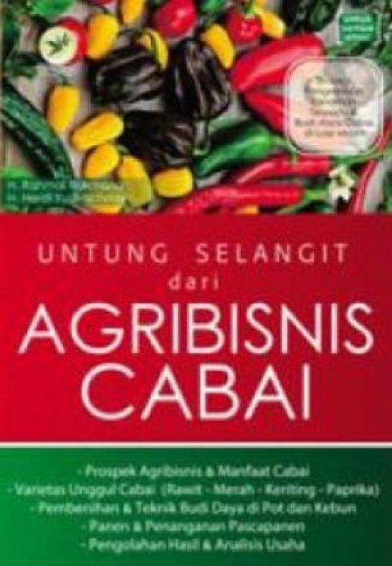 Cover Buku Untung Selangit Dari Agribisnis Cabai