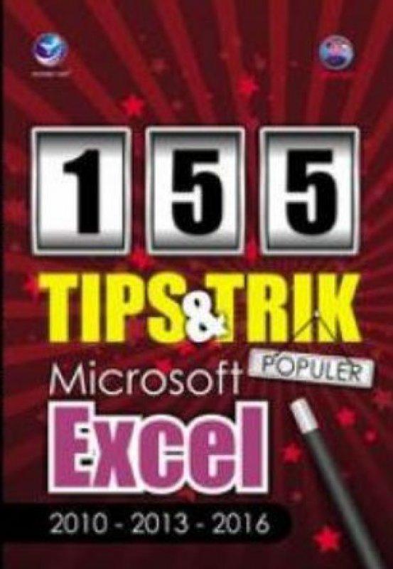 Cover Buku 155 Tips Dan Trik Populer Microsoft Excel