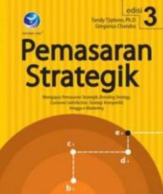 Cover Buku Pemasaran Strategik edisi 3