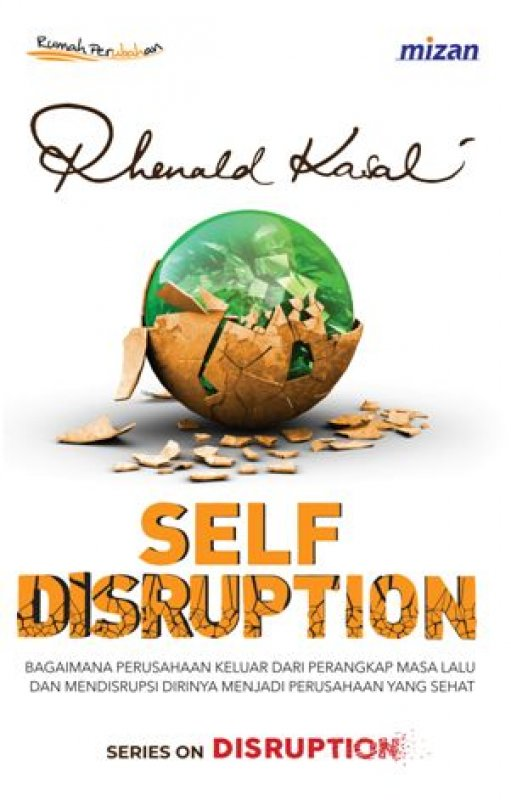 Cover Buku SELF DISRUPTION
