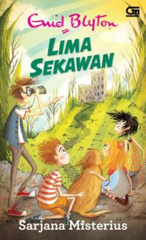 Cover Buku Lima Sekawan: Sarjana Misterius (cover baru 2018)