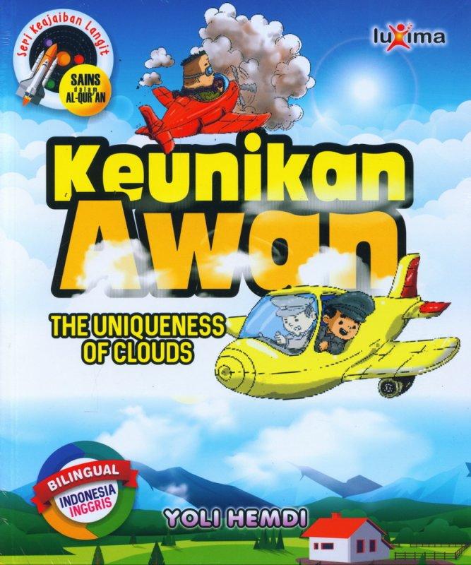 Cover Buku Seri Keajaiban Langit: Keunikan Awan (Bilingual)