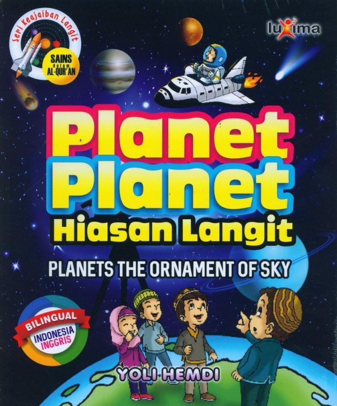 Cover Buku Seri Keajaiaban Langit: Planet-Planet Hiasan Langit (Bilingual)