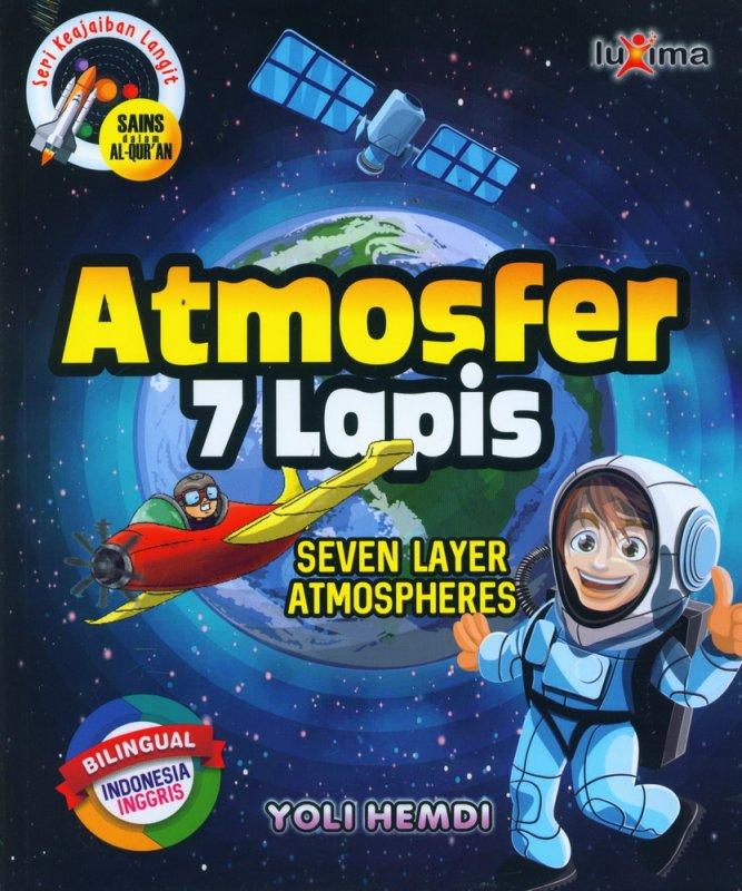 Cover Buku Seri Keajaiban Langit: Atmosfer 7 Lapis (Bilingual)