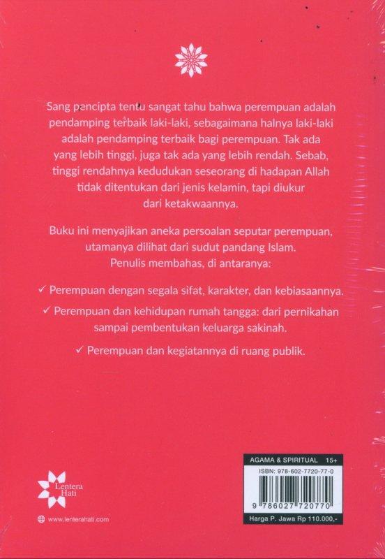 Cover Belakang Buku Perempuan - Edisi Baru