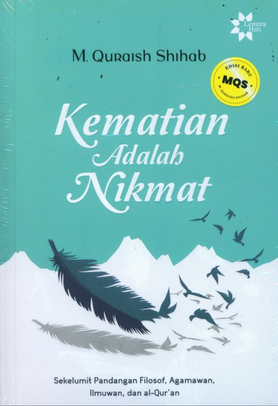 Cover Buku Kematian Adalah Nikmat - Edisi Baru