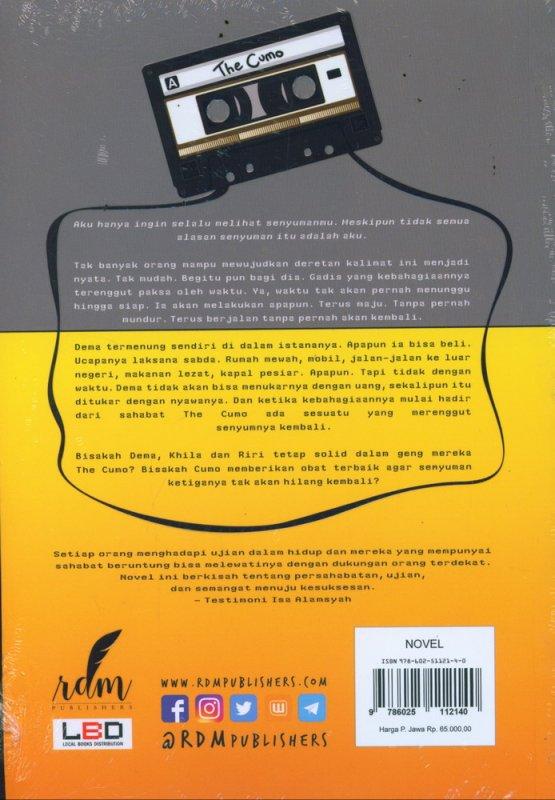 Cover Belakang Buku CUMO - Curhat Mobile