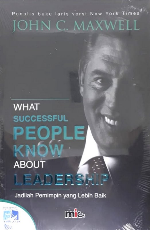 Cover Buku What Successful People Know About Leardership
