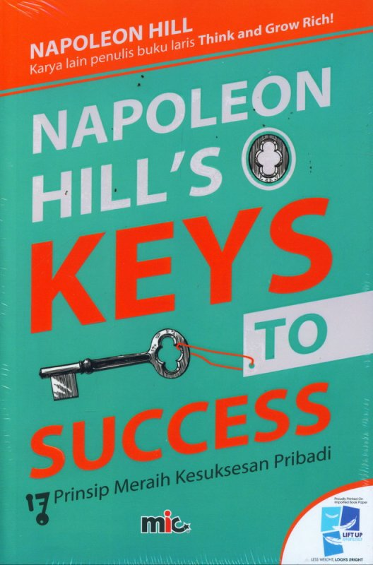 Cover Buku Napoleon hills Keys To Success