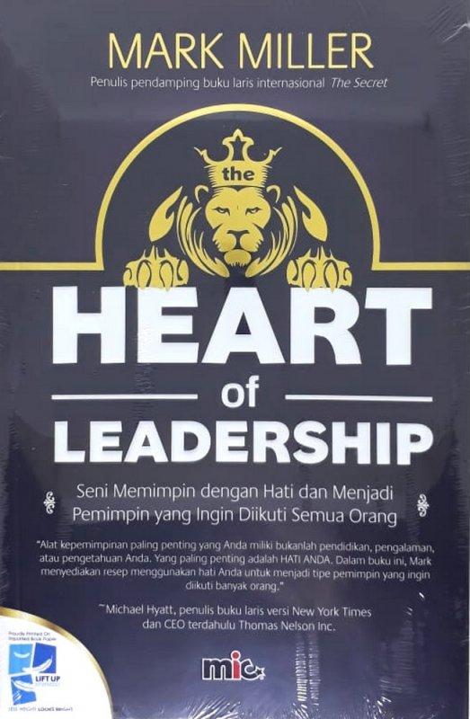 Cover Buku Heart of Leadership