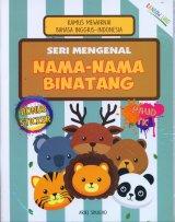Seri Mengenal Nama-Nama Binatang : Kamus Mewarnai Bahasa Inggris-Indonesia