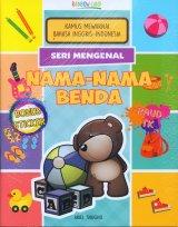 Seri Mengenal Nama-Nama Benda : Kamus Mewarnai Bahasa Inggris-Indonesia