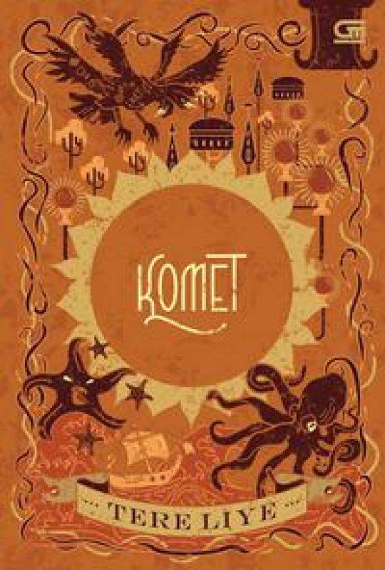 Cover Buku Komet
