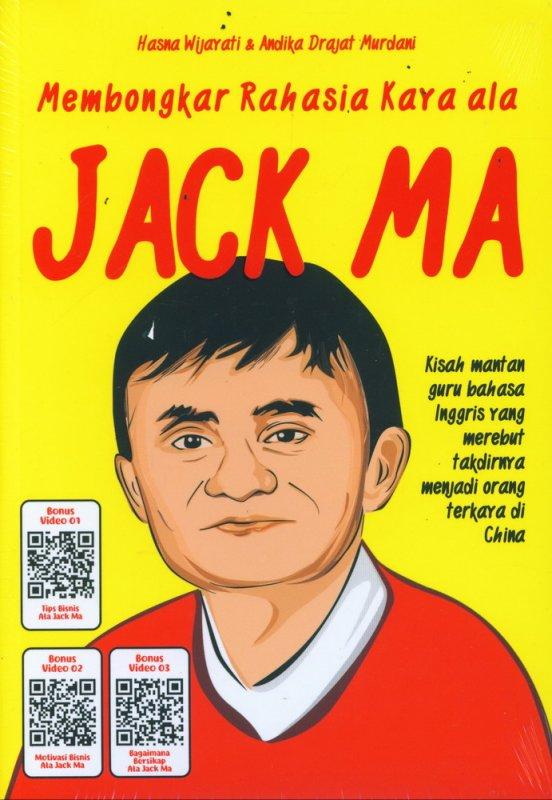 Cover Buku Membongkar Rahasia Kaya ala Jack Ma