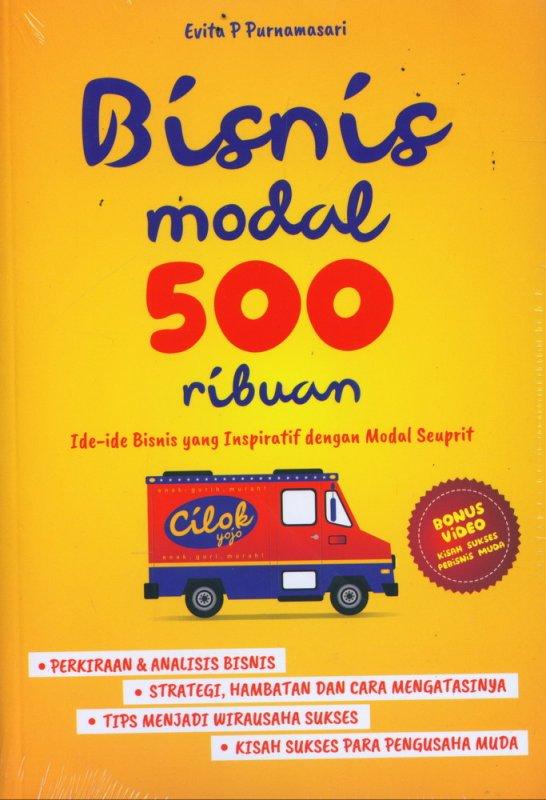 Cover Buku Bisnis Modal 500 Ribuan