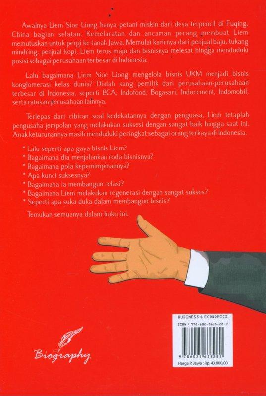 Cover Belakang Buku Liem Sioe Liong