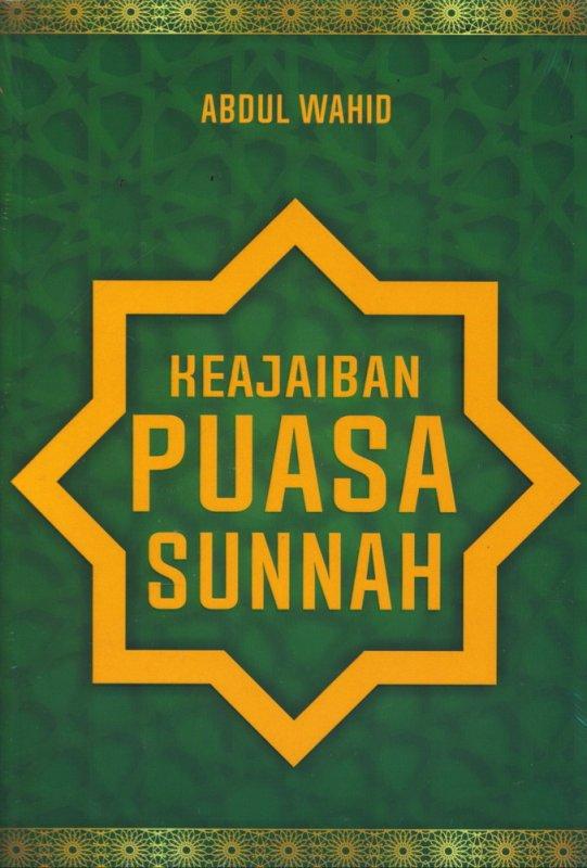 Cover Buku Keajaiban Puasa Sunnah (AHI)