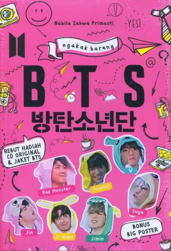 Cover Buku Ngakak Bareng BTS