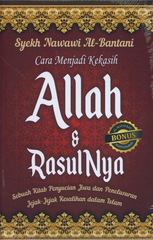 Cover Buku Cara Menjadi Kekasih Allah & RasulNya