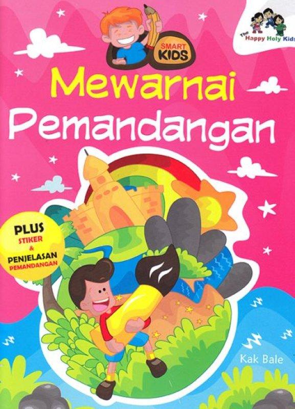 Cover Buku SMART KIDS: MEWARNAI PEMANDANGAN