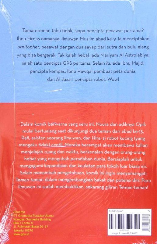 Cover Belakang Buku Muslim Itu Hebat!