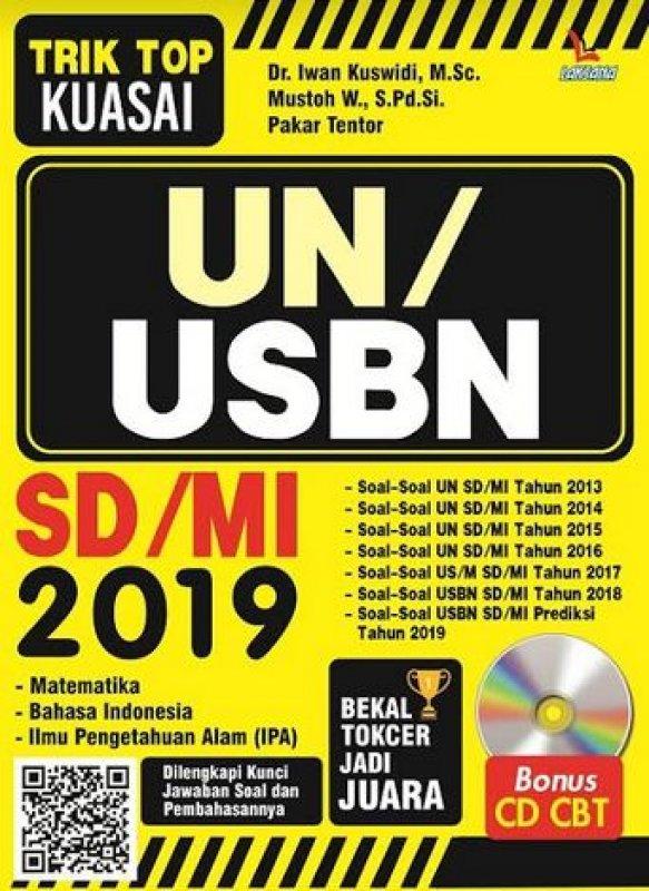 Buku Trik Top Kuasai Un Usbn Sd Mi 2019 Bonus Cd Cbt Bukukita