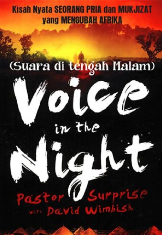 Cover Depan Buku Suara di tengah Malam - Voice in the Night