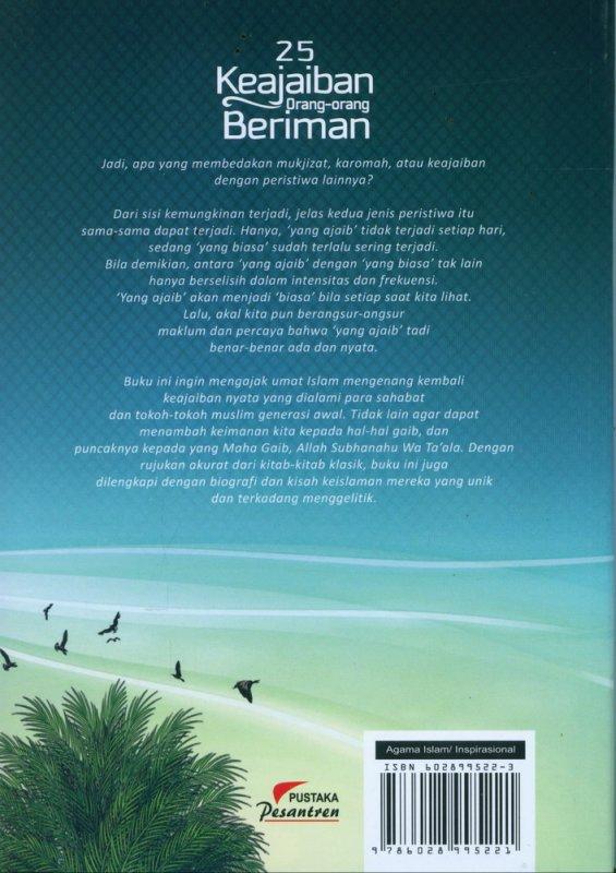 Cover Belakang Buku 25 Keajaiban Orang_Orang Beriman