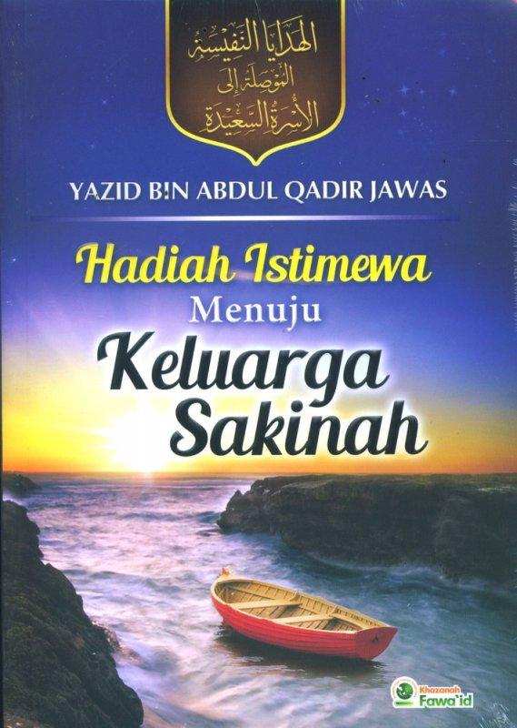 Cover Buku Hadiah Istimewa Menuju Keluarga Sakinah