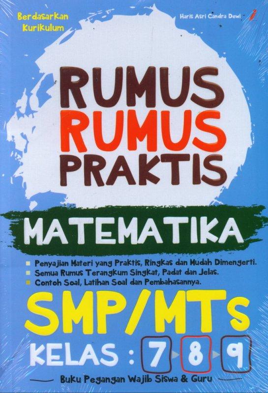 Cover Buku Rumus-Rumus Praktis MATEMATIKA SMP/MTs Kelas 7-8-9