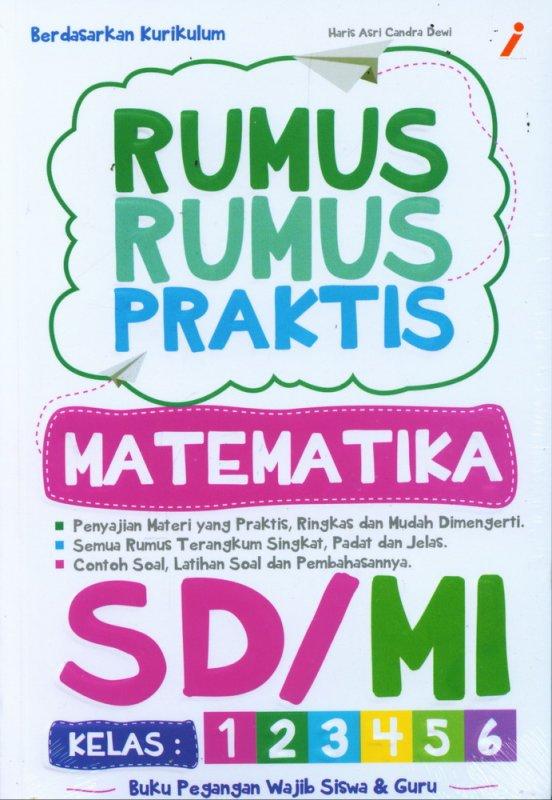 Cover Buku Rumus-Rumus Praktis MATEMATIKA SD/MI Kelas 1-6