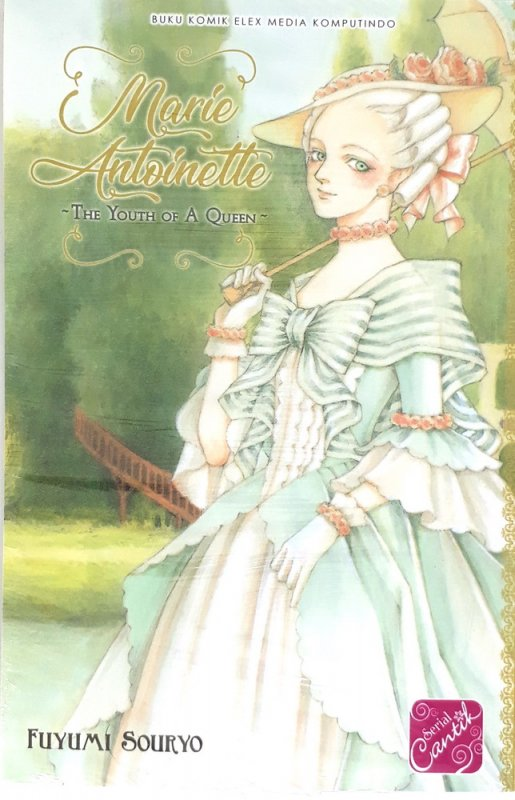 Cover Buku Marie Antoinette ~ The Youth of A Queen