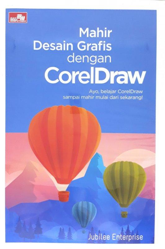 Cover Buku Mahir Desain Grafis dengan CorelDraw