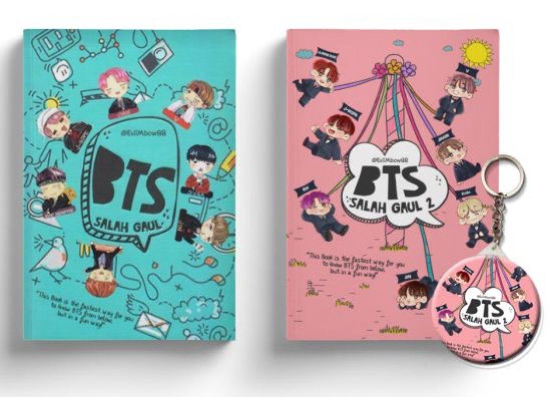 Cover Buku PAKET BUNDEL BTS SALAH GAUL 1 & 2 [Edisi TTD + Free Keychain]