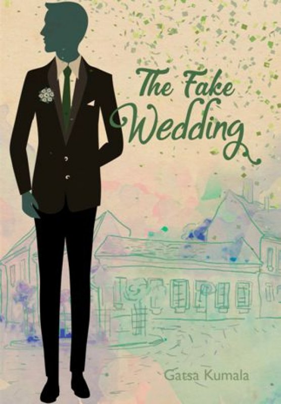 Cover Buku The Fake Wedding