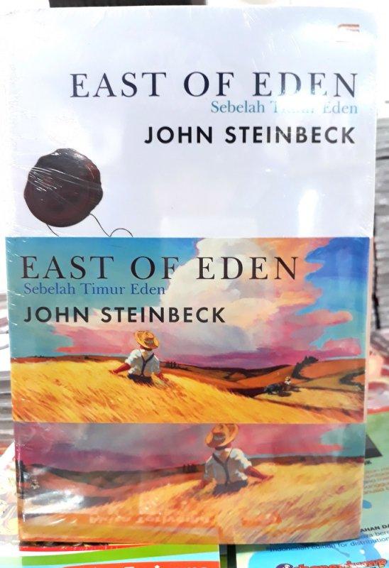 Cover Belakang Buku Sebelah Timur Eden (East of Eden) - Bundle 1 & 2