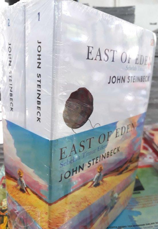 Cover Buku Sebelah Timur Eden (East of Eden) - Bundle 1 & 2
