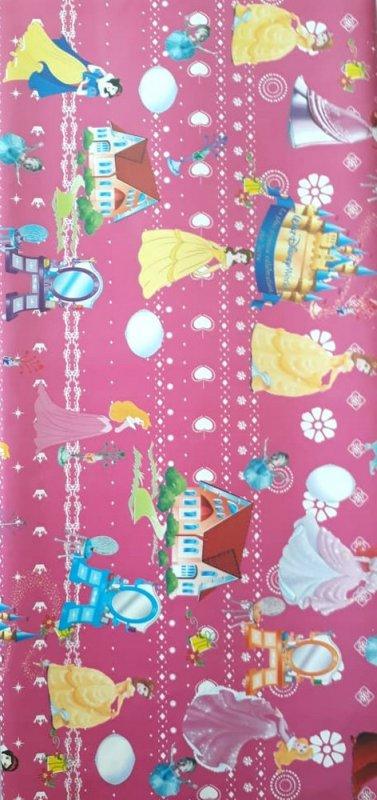 Cover Buku Bungkus Kertas Kado Motif Walt Disney World