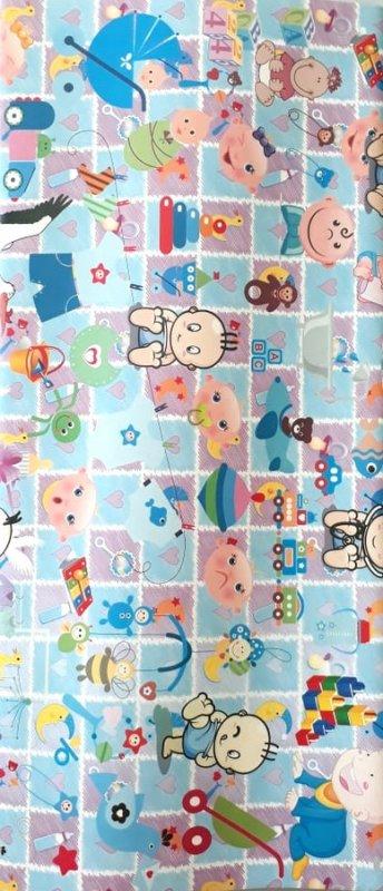 Cover Buku Bungkus Kertas Kado Motif Baby