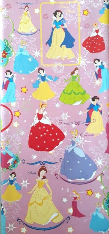Cover Buku Bungkus Kertas Kado Motif Snow White & Cinderella