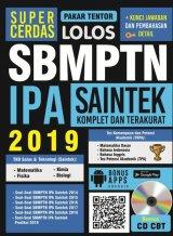 SUPER CERDAS LOLOS SBMPTN IPA SAINTEK 2019 BONUS CD CBT
