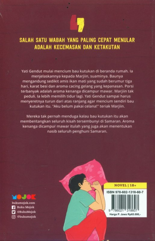 Cover Samaran sebuah novel